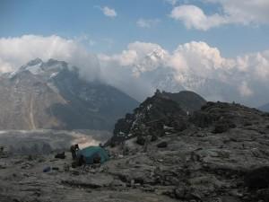 High Camp Lobuche Peak