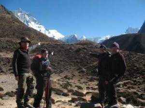 Den dar toppen ska vi upp for!!!  Island Peak 6 189 meter.