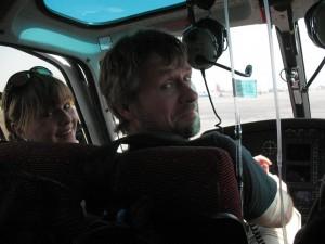 Emma & Mats på väg till Lukla