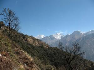 Första vyerna av Mera Peak!