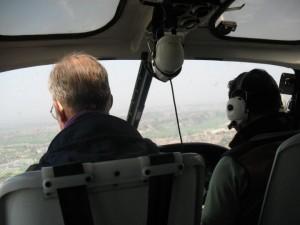 Helikopterfärd från Lukla
