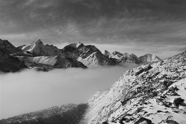 Dramatiska Himalaya