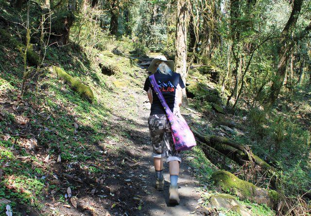 Hi On Life på Yogavandring i Annapurna