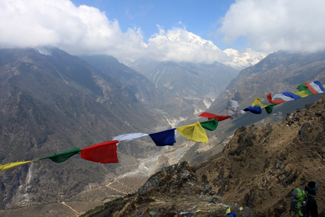 Troligtvis den finaste acklimatiseringsturen man kan gora i Khumbu...