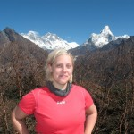 Emelie, Ama Dablam, Lhotse & Mount Everest