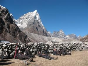 Visserligen ska vi bestiga berg, men lite semester maste man ju ha ocksa...