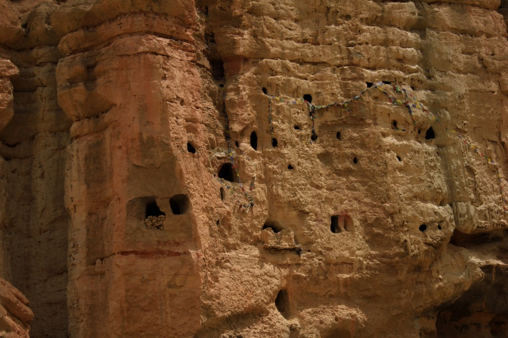 Caves in Mustang, Nepal