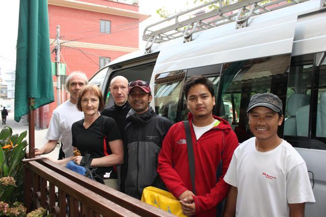 Annapurna ganget redo for att ge sig av