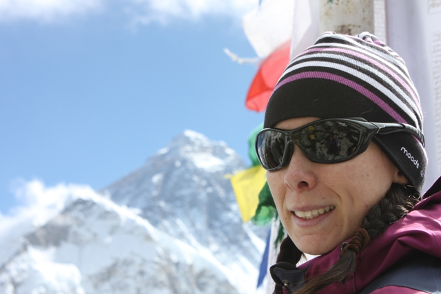 Jenny & Everest - Taget fran Kala pathar 5 545m.