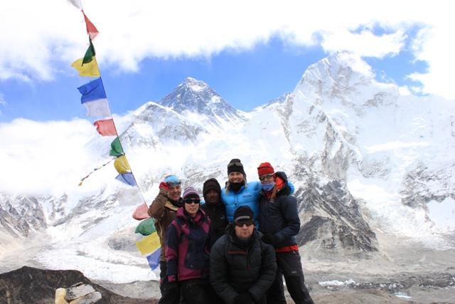 Ganget framfor Everest