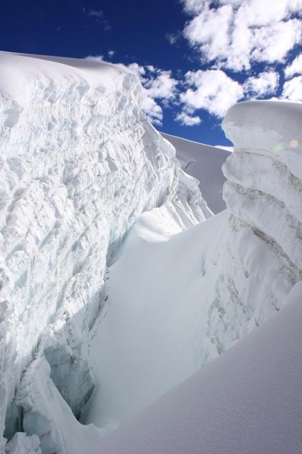 Fantastisk glaciar