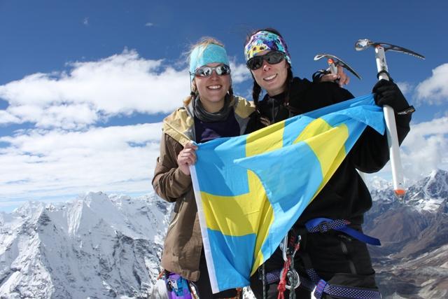 JIPPII!!!  6 189 meter over havet!!!  Mitt bland Himalayas giganter!