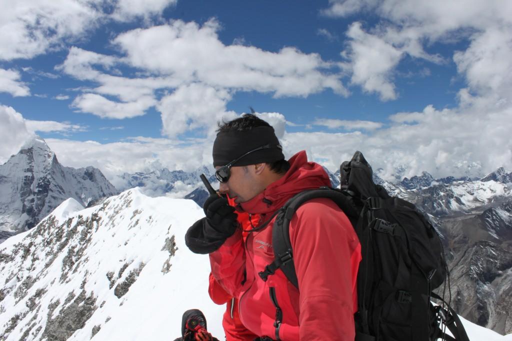 Climbing in the Himalayas