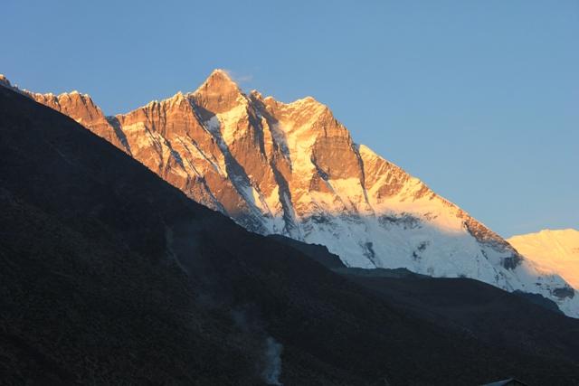 Lhotse fran Dingboche