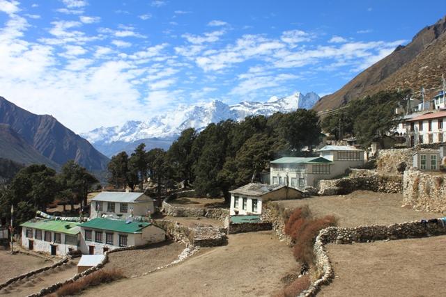 Upper Pangboche, en fin liten by i Everestregionen!