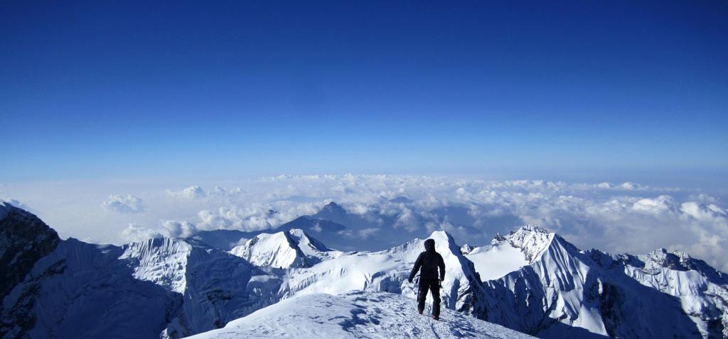Nima i högt uppe i Himalaya