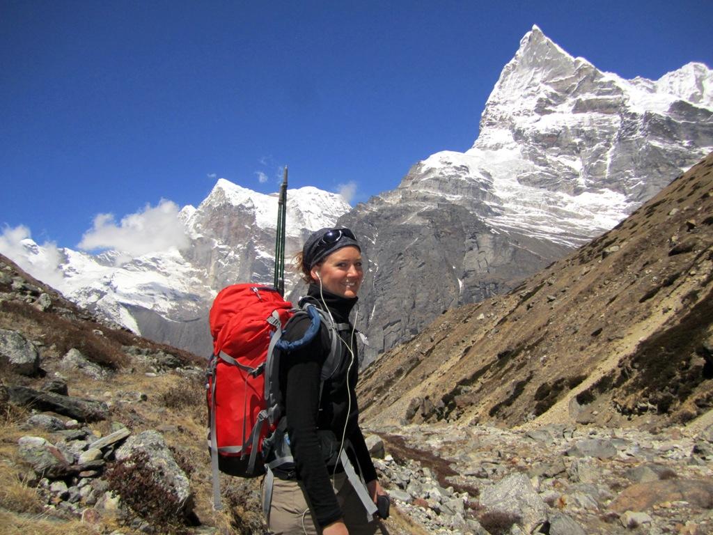 Grattis Susanna - strongt gjort att bestiga Mera Peak!