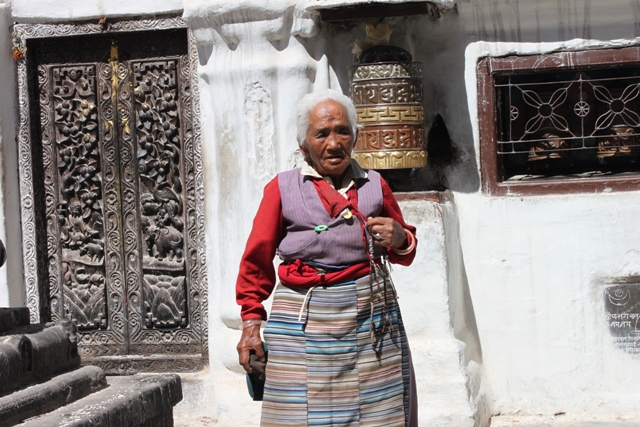 Tibetansk kvinna