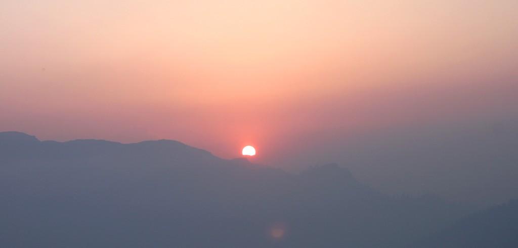 Soluppgång över Himalaya, Poon Hill