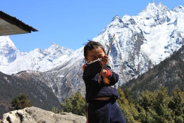 Sherpa pojke