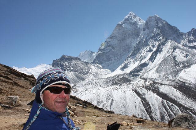Pete acklimatiserar sig pa 4700 meter over havet