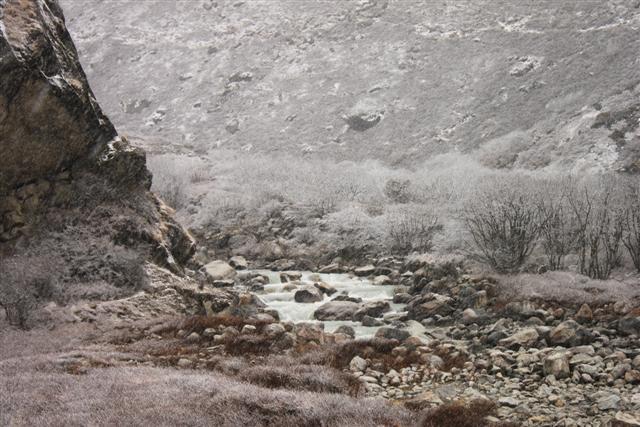Snoigt i Himalaya