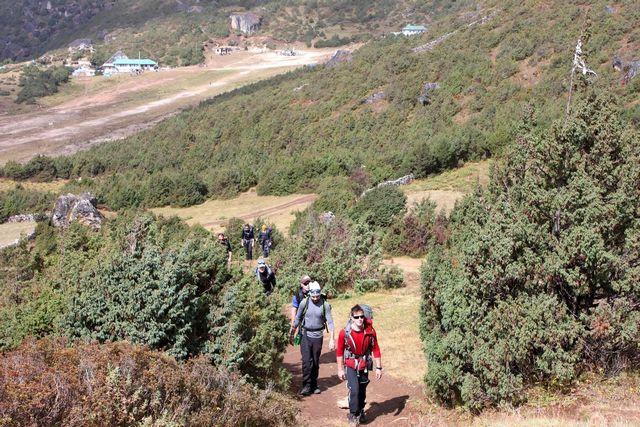 3500 möh men fortfarande träd!  Trädgränsen i Nepal ligger på ca 4000 möh