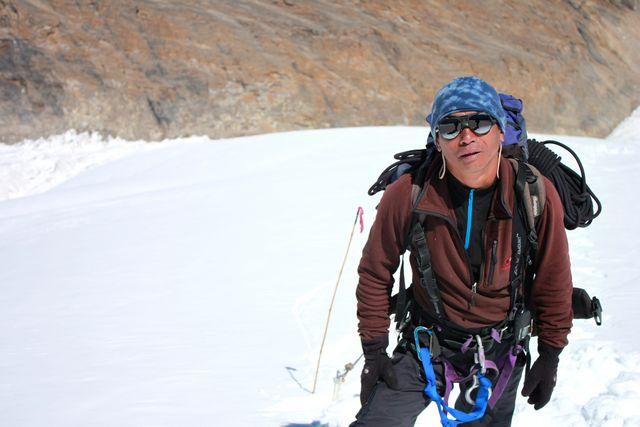 Vår guide Sonam