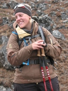Expeditionsmedlem Emelie Andersson