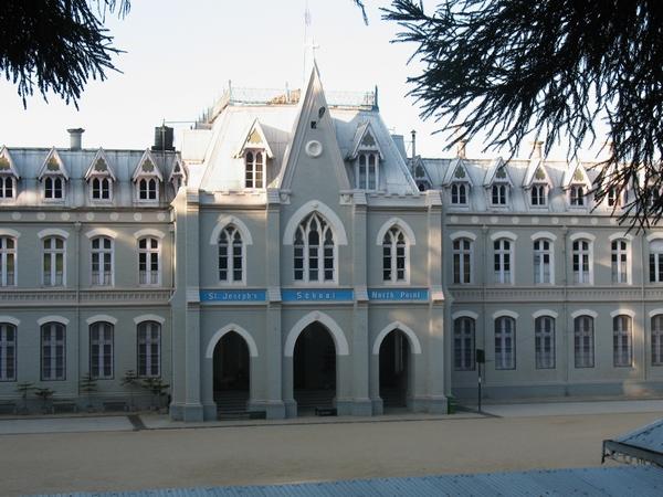 En av Darjeelings vackra skolor