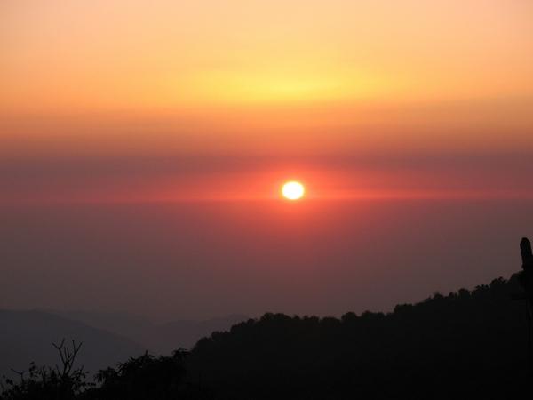 Soluppgång från Tiger Hill