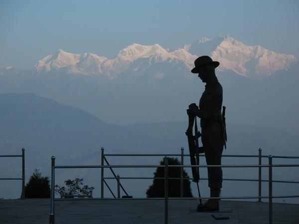 Minnesmonument i Darjeeling