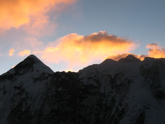 Soluppgång över Himalaya