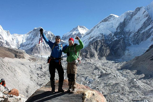 Everest Base Camp Trek - På väg ut mot Gorak Shep!