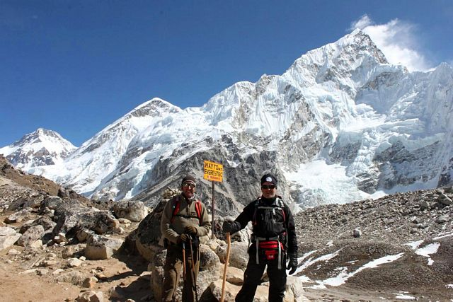 Everest Base Camp Trek - Mot baslägret!!