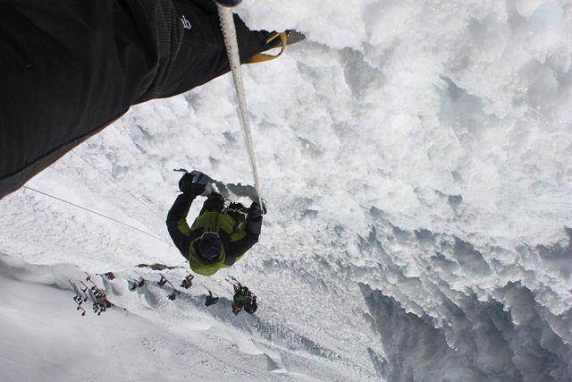 """Island Peak är INGEN """"trekking"""" peak som ni kan se av denna bild!"""
