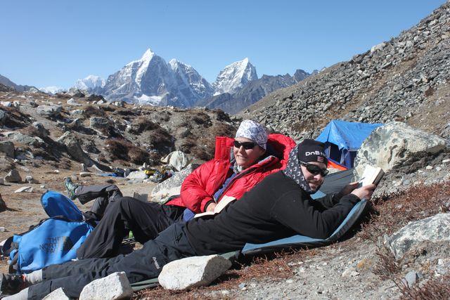 Livet är gott i Himalaya!