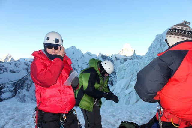 Island Peak High Camp!
