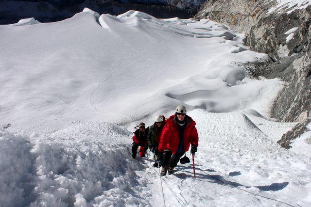 Bestigning av Island Peak