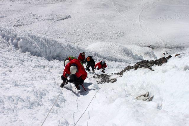 Bestiging av Island Peak