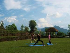 Yoga Trek- Hi On Life April 2010