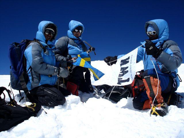 På toppen av Dhaulagiri VII - Putha Hiunchuli